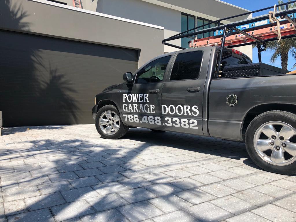 Power Garage Doors Website